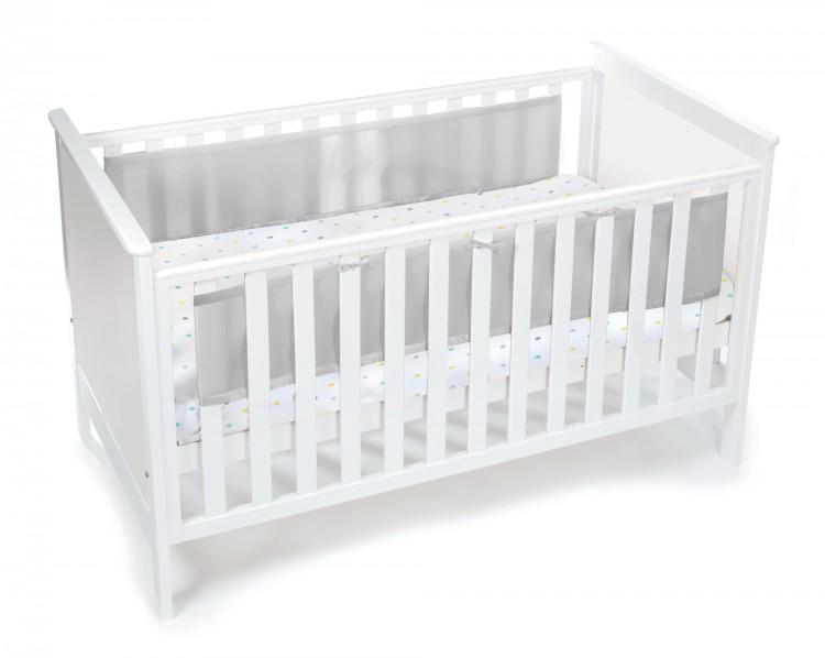 luftdurchl ssiges babynest f r betten mit geschlossenem. Black Bedroom Furniture Sets. Home Design Ideas
